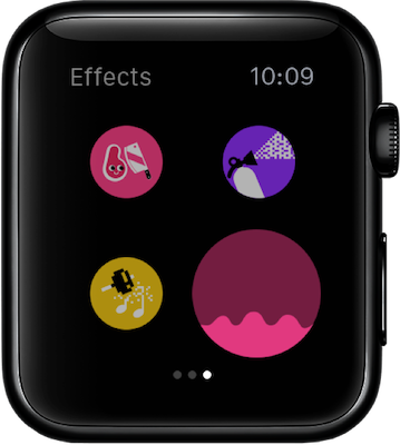 Pacemaker DJ Mix Effects on Apple Watch